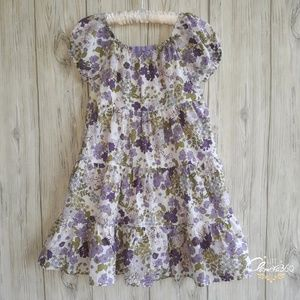 Gymboree Cowgirls at Heart Floral Dress Size 4